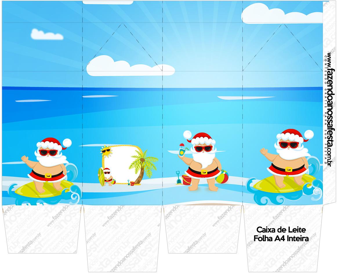 Caixa de leite Natal Tropical