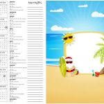 Calendario 2017 2 Natal Tropical Kit Festa