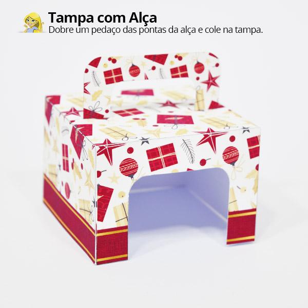 Como fazer Bolinha de Natal personalizada 2