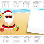 Convite Calendario 2017 Natal Tropical