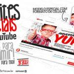 Convite Especial Festa Youtube Grátis para Imprimir e Personalizar