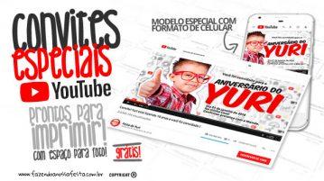 Convite Especial Youtube Grátis