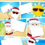 Convite Gibi Natal Tropical