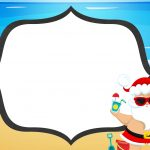 Convite Natal Tropical 6