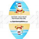 Convite Vestido 83 Natal Tropical