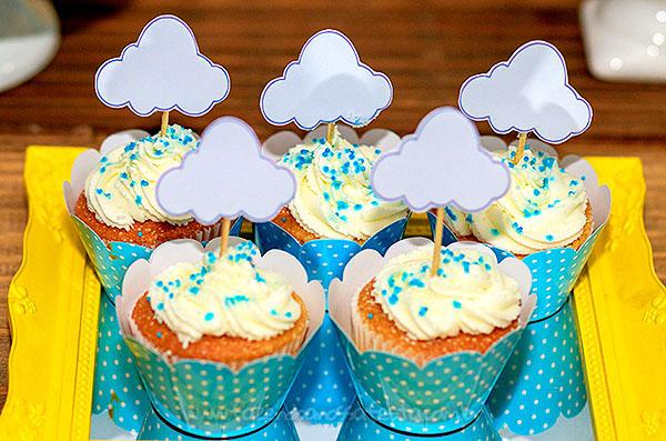 Cupcakes Festa Arca de Noé do Henrique
