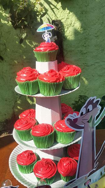Cupcakes Festa Show da Luna da Alana