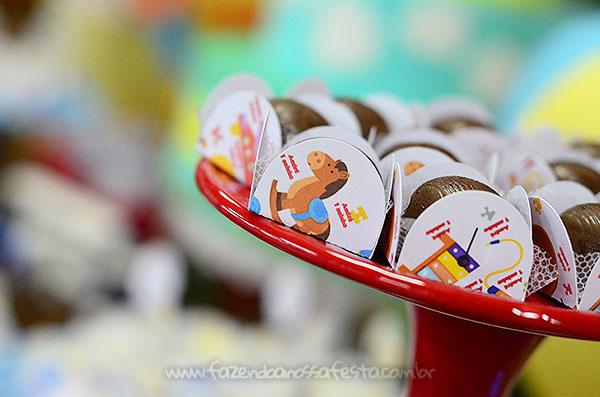 Docinhos Festa Infantil Brinquedos Antigos do Andre