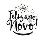 Feliz Ano Novo Escrita