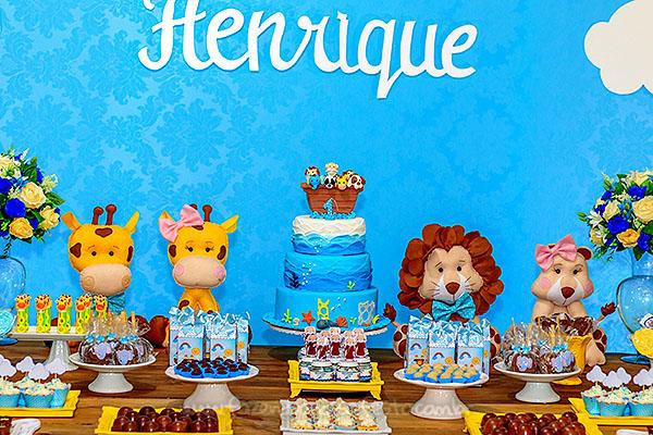 Festa Infantil Arca de Noe do Henrique 9
