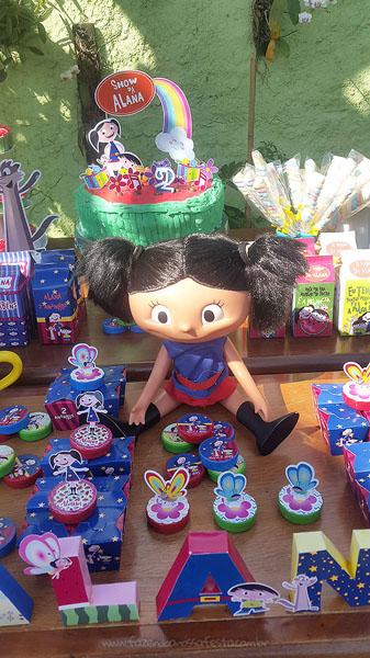 Festa Infantil Show da Luna da Alana 14