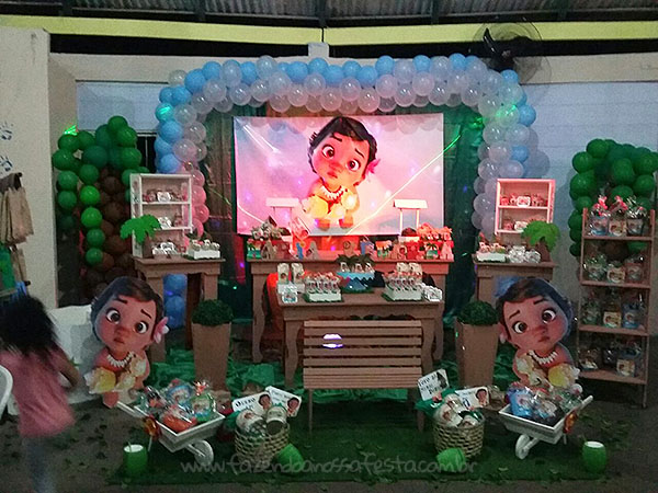 Festa Infantil Moana Baby da Maria Eduarda 2
