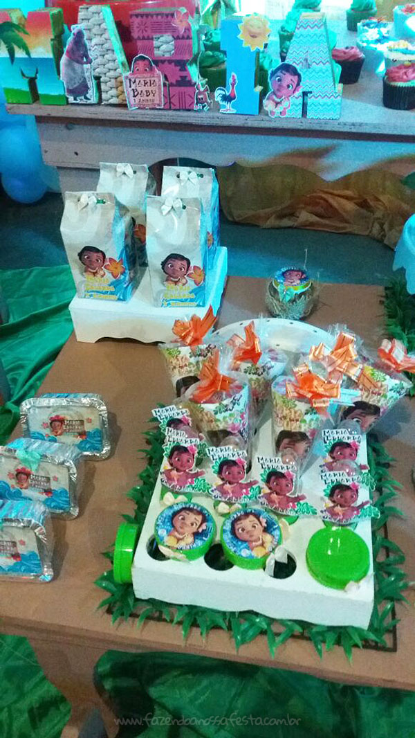 Festa Infantil Moana Baby da Maria Eduarda 3
