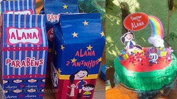 Festa Show da Luna da Alana Ideias