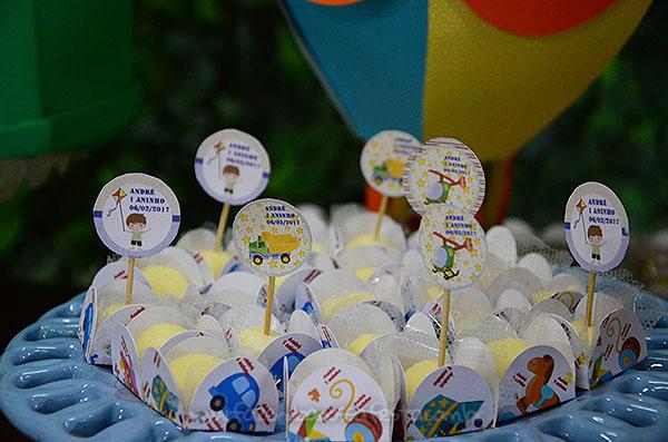 Forminha docinhos Festa Brinquedos Antigos do Andre