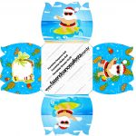 Envelope CD DVD Natal Tropical