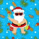 Caixa Acrilico 5 Natal Tropical