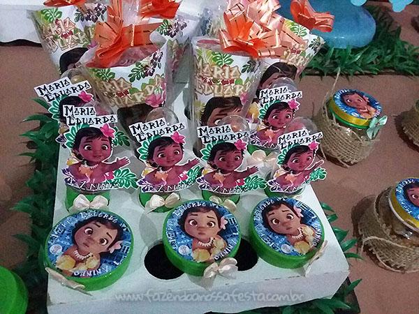 Latinhas Festa Infantil Moana Baby da Maria Eduarda