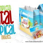 Natal Tropical Kit Festa Grátis para Baixar e Imprimir