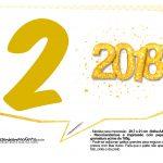 Plaquinha Ano Novo Revellion 2018 12
