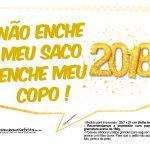 Plaquinha Ano Novo Revellion 2018