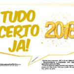 Plaquinha Ano Novo Revellion 2018 17