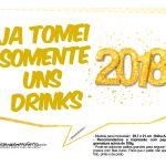 Plaquinha Ano Novo Revellion 2018 20