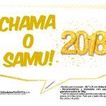 Plaquinha Ano Novo Revellion 2018 22