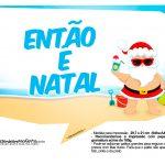 Plaquinhas Natal Tropical 1