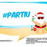 Plaquinhas divertidas Natal Tropical 4