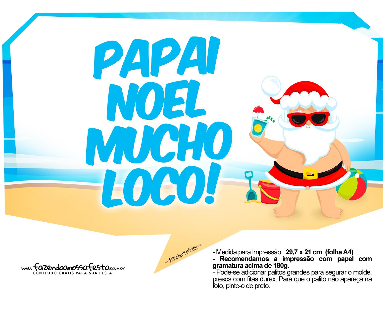 Plaquinhas Natal Tropical 5