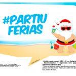 Plaquinhas divertidas Natal Tropical 14