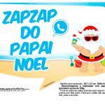 Plaquinhas divertidas Natal Tropical 20
