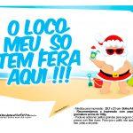 Plaquinhas divertidas Natal Tropical 9