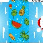 Rotulo Tic Tac Natal Tropical