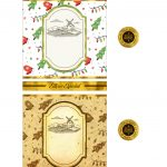 Rotulo de Vinho Personalizado para Natal 11