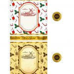 Rotulo de Vinho Personalizado para Natal
