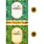Rotulo de Vinho Personalizado para Natal 3