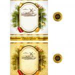 Rotulo de Vinho Personalizado para Natal 4