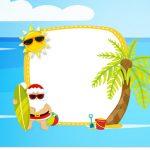Rotulo para Squezze Natal Tropical