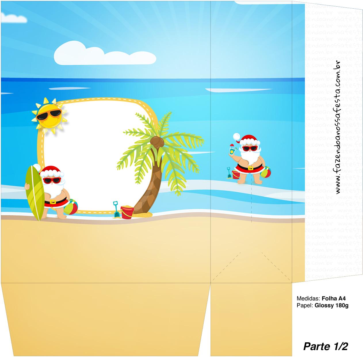 Sacolinha Surpresa 1 2 Natal Tropical