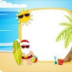 Tag Agradecimento Etiqueta Natal Tropical