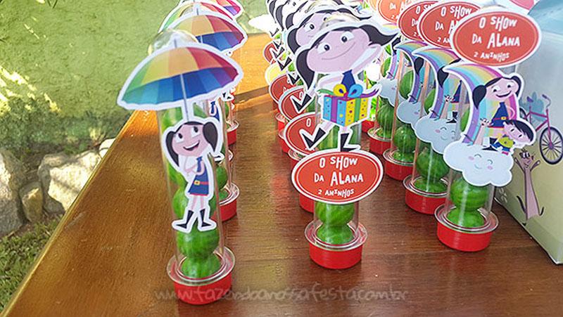 Tubetes Festa Infantil Show da Luna da Alana