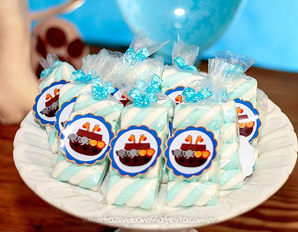 doces Festa Infantil Arca de Noe do Henrique