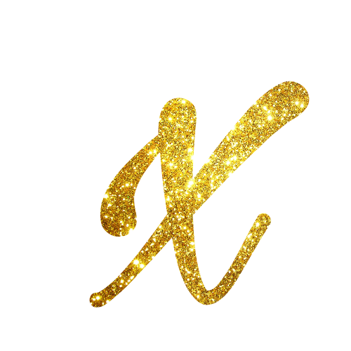 Alfabeto Festa Unicornio X
