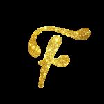 Alfabeto Festa Unicornio F