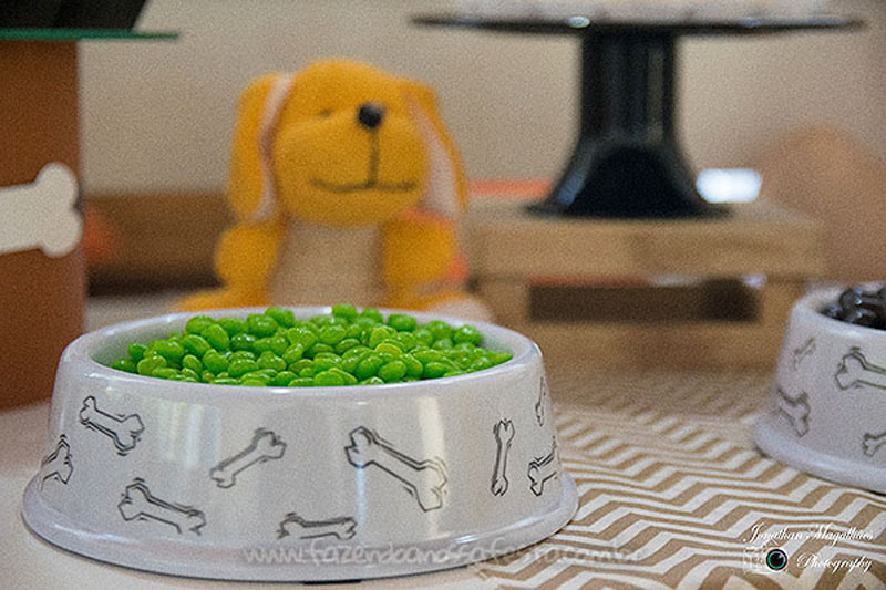 Balinhas Festa Cachorrinhos do Luca