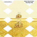Caixa Bala Ano Novo 2018