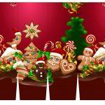 Caixa Cerveja Long Neck para Natal Vermelho 2