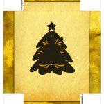 Caixa Lata Cerveja Natal Dourado Arvore 3